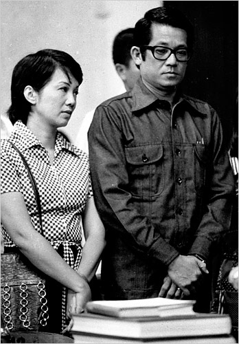 Cory Aquino with Ninoy